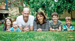 happy family homepage banner